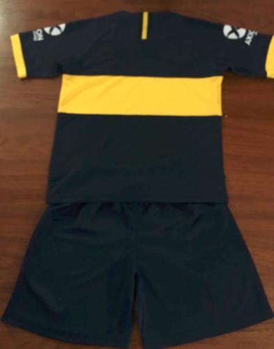 Boca Juniors 19/20 Home Soccer Jersey and Short Kit
