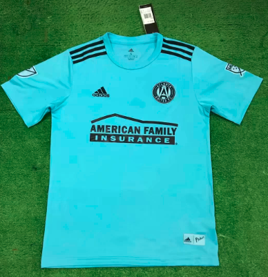 Thai Version Atlanta United FC 19/20 Soccer Jersey - Blue