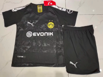 Borussia Dortmund 19/20 Kids Away Soccer Jersey and Short Kit