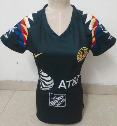 Thai Version Club America 19/20 Women's Away soccer jersey