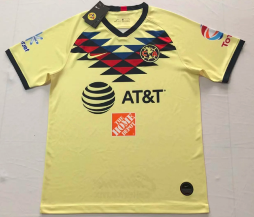 Thai Version Club America 19/20 Home Soccer Jersey