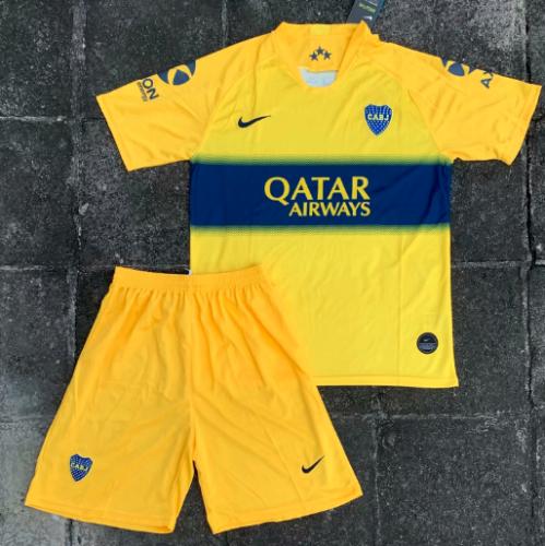 Boca Juniors 19/20 Away Soccer Jersey and Short Kit