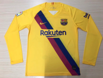 Thai Version Barcelona 19/20 LS Away Soccer Jersey