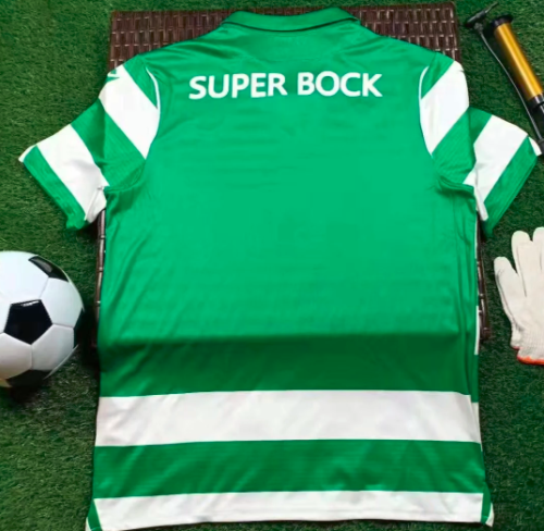 Thai Version Sporting Lisbon 19/20 Home Soccer Jersey