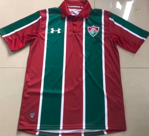 Thai Version Fluminense 19/20 Home Soccer Jersey