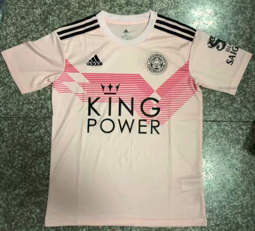 Thai Version Leicester City 19/20 Away Soccer Jersey - Pink