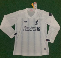 Thai Version Liverpool 19/20 LS Away Soccer Jersey