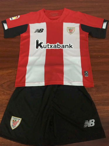 ATHLETIC BILBAO 19/20 Home Soccer Jersey and Short Kit