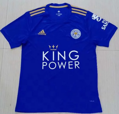 Thai Version Leicester City 19/20 Home Soccer Jersey