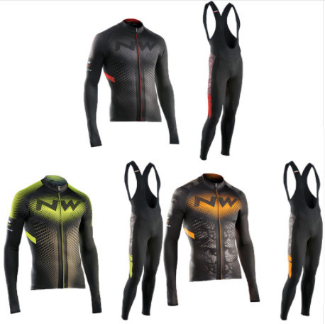 Men's 2019 Season Long Sleeves Cycling Uniform CY0066