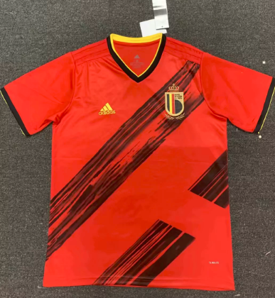 Thai Version Belgium 2019 Home Soccer Jersey