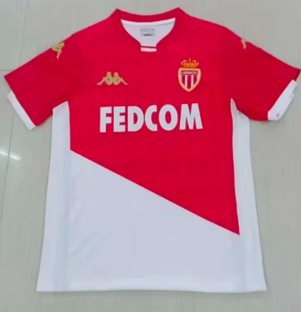 Thai Version AS Monaco 19/20 Soccer Jersey - 003