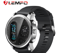 Lemfo t3pro smart Watch Bracelet Heart rate movement sleep monitoring dual time zone display smart Watch