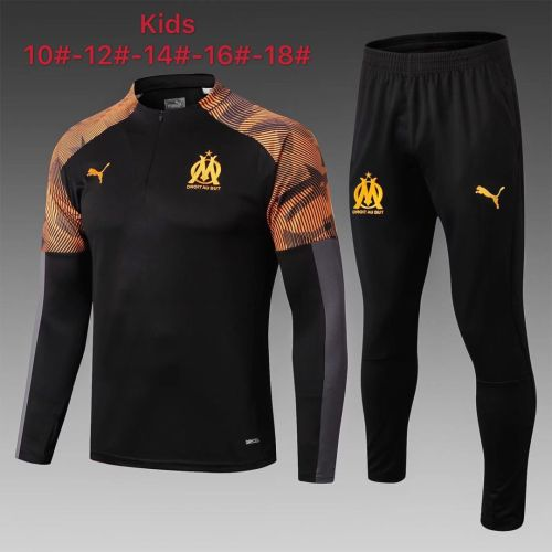 Olympique Marseille 19/20 Kids Soccer Top and Pants - #E313