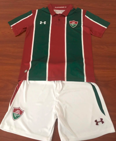 Fluminense 19/20 Kids Home Soccer Jersey and Short Kit