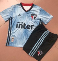 Sao Paulo 19/20 Third Soccer Jersey and Short Kit