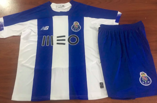 Porto 19/20 Home Soccer Jersey and Short Kit