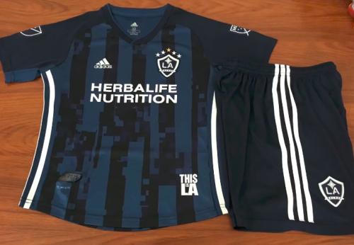 Los Angeles FC 19/20 Kids Soccer Jersey and Short Kit - 001