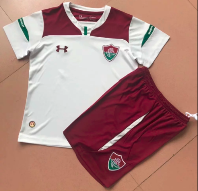 Fluminense 19/20 Kids Away Soccer Jersey and Short Kit