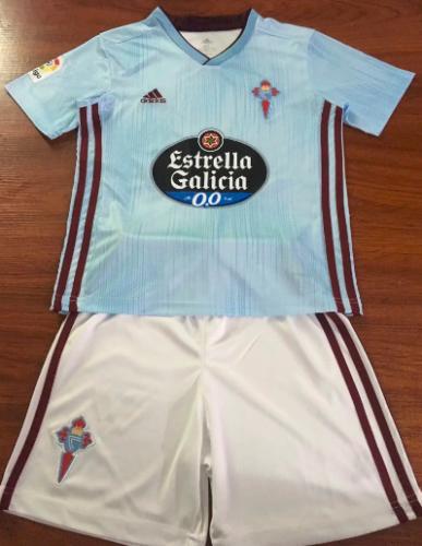 Celta de Vigo 19/20 Home Soccer Jersey and Short Kit