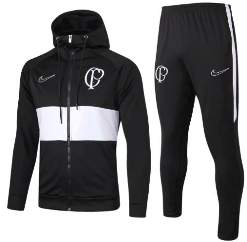Corinthians 19/20 Hoodie and Pants - Black