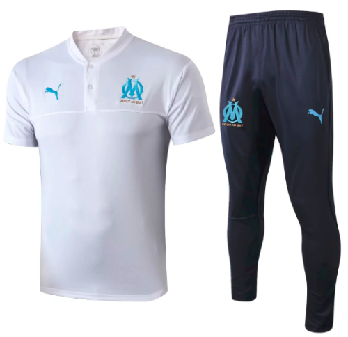 Olympique Marseille 19/20 Training Polo and Pants - #C370