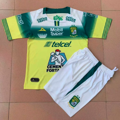 Club Leon 19/20 Away Soccer Jersey and Short Kit