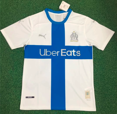 Thai Version 19/20 Olympique Marseille Soccer Jersey