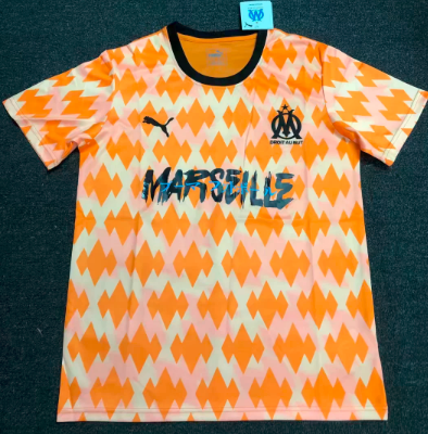 Thai Version Olympique Marseille limited 19/20 edition Soccer Jersey - 001