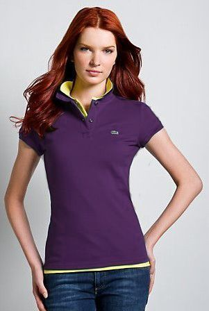 Women's Classical High Quality Polo Shirt A 016