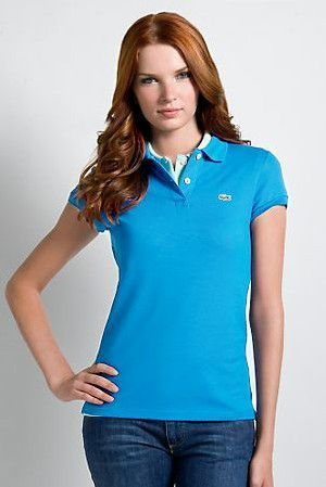 Women's Classical High Quality Polo Shirt A 018