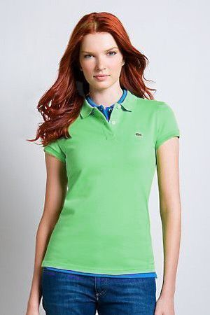 Women's Classical High Quality Polo Shirt A 007