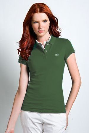 Women's Classical High Quality Polo Shirt A 004