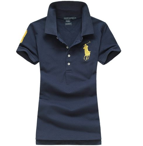 Women's Classical High Quality Polo Shirt 6EC2 006
