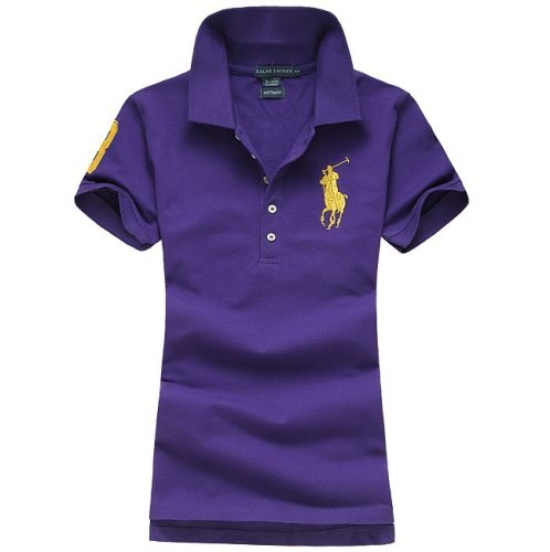 Women's Classical High Quality Polo Shirt 6EC2 013