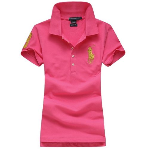 Women's Classical High Quality Polo Shirt 6EC2 011
