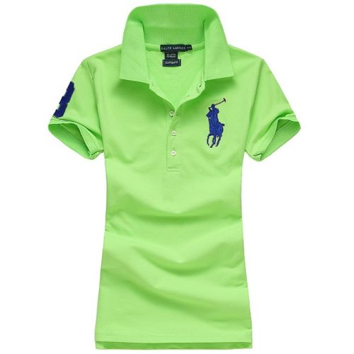 Women's Classical High Quality Polo Shirt 6EC2 014
