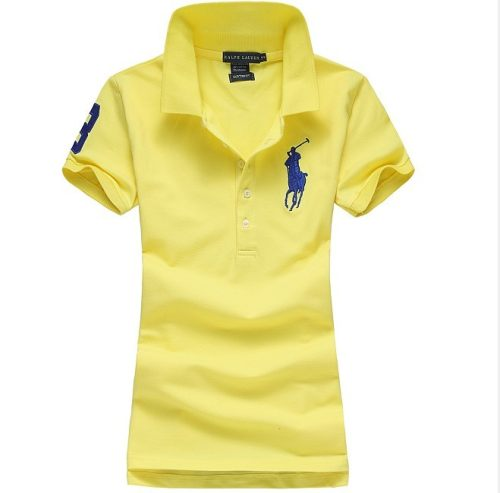 Women's Classical High Quality Polo Shirt 6EC2 010