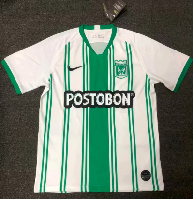 Thai Version Atletico Nacional 20/21 Home Soccer Jersey