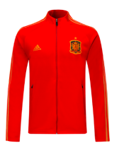 Spain 2020 Training Jacket - Red