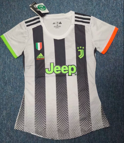 Thai Version Juventus 19/20 Women's limited edition Soccer Jersey