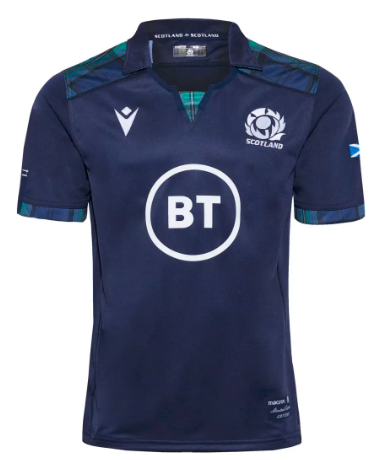 Scotland 2020 Home Rugby Jersey
