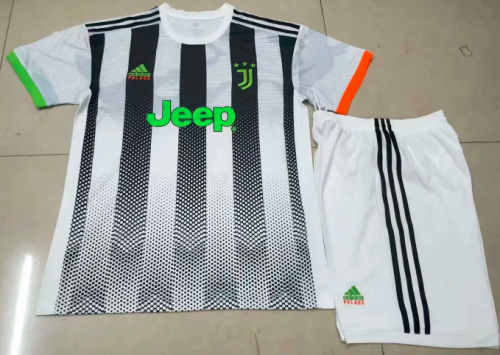 Juventus 19/20 limited edition Soccer Jersey and Short Kit