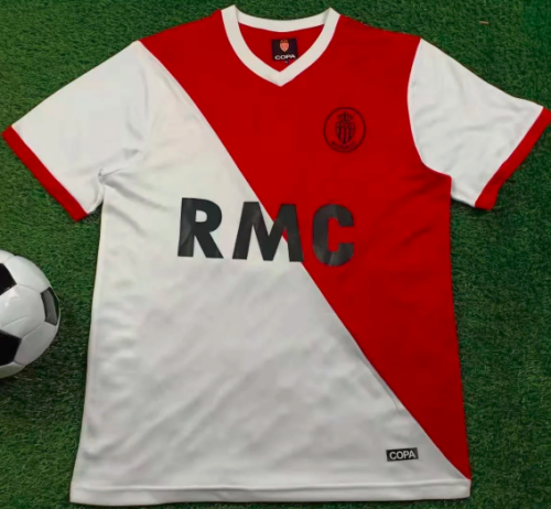 Thai Version Monaco 1977-1982 Retro Soccer Jersey