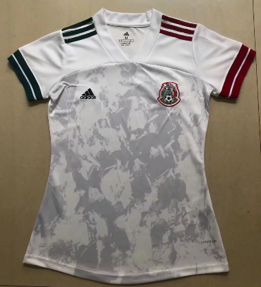 Thai Version Mexico 2020 Women's Away Soccer Jersey