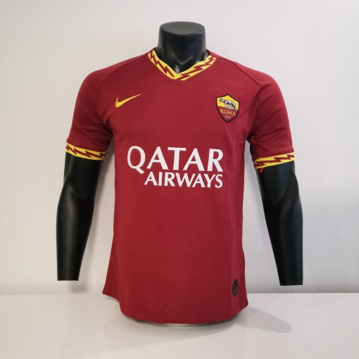 Thai Version AS Roma 19/20 Home Soccer Jersey by shootjerseys