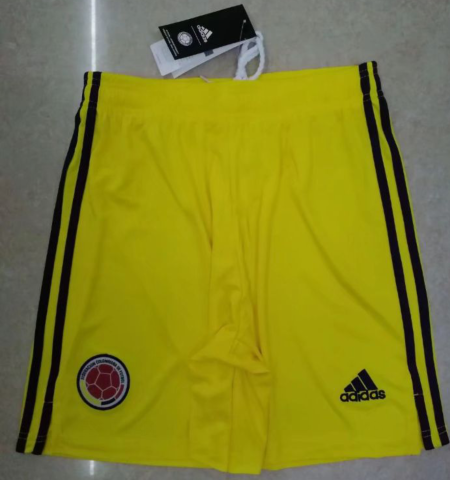 Thai Version Colombia 2020 Away Soccer Shorts