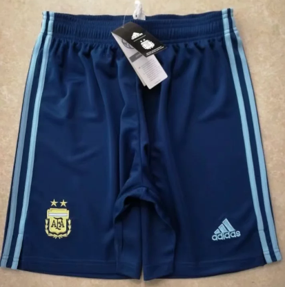 Thai Version Argentina 2020 Away Soccer Shorts
