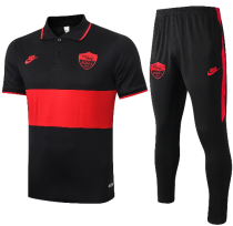AS Roma 19/20 Polo and Pants - #C391