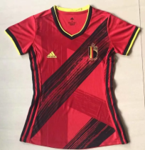 Thai Version Belgium 2020 Women's Home Soccer Jersey